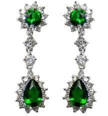 full size of lighting decorative emerald chandelier earrings 17 1 kimmy art deco green pear cut