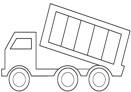 Free Printable Dump Truck Coloring Pages For Kids Construction