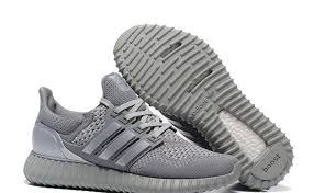 adidas 2017 shoes. men trainers shoes 2017 adidas yeezy ultra popcorn boots silver gray