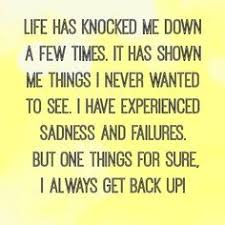 Get Back Up Quotes Cool We Are All Faced With A Series Of Great Opportunities Brilliantly