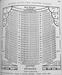Cort Theater Seating Chart San Francisco Theatres The Cort Theatre
