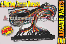 harness 6 buttons How To Wire A Jamma Harness jamma harness 6 buttons how to install a jamma harness