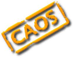 Resultado de imagem para CAOS