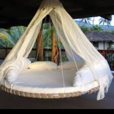 several uses for this spring to mind, but where...?   Outdoor beds,  Recycled trampoline, Outdoor bed