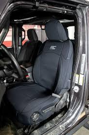 wrangler jl seat cover neoprene black