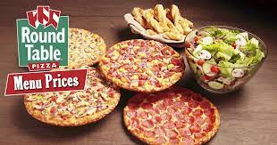 round table pizza menu s of all