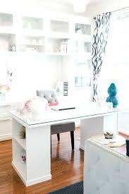 home office ideas uk. office clean sleek tour with lacoya heggie ikea desk ideas uk hackers home