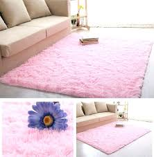 big pink fuzzy rugs furry rugs beige soft fluffy anti skid gy rug living