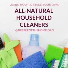 making homemade all natural cleaning projects was a logical first step to eliminate toxins and
