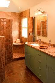 copper slate tile bathroom eclectic with curved walls kitchen backsplash copper mosaic slate tile vinyl