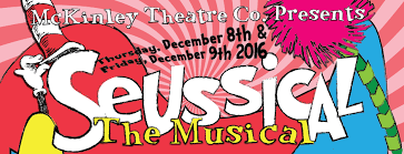Seuss characters come to life in this delightful seussian gumbo of musical styles, ranging from latin to pop, swing to gospel, and r director's script. Seussical 2016 Mckinley Elementary Ptc