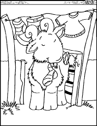 Small Picture Goat coloring page Animals Town Free Goat color sheet