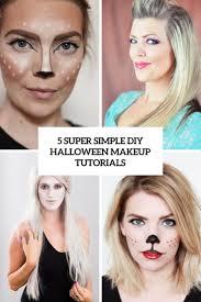 5 super simple diy makeup tutorials cover