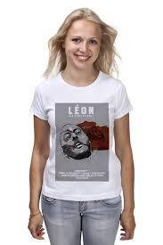 <b>Футболка классическая</b> Леон / <b>Leon</b> #2215560 – заказать ...