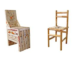 recycled furniture design. Sensational Armless Wooden Chairs With Recycled Wood Material For Indoor Or Exterior Furniture Rustic Eco Friendly Design C