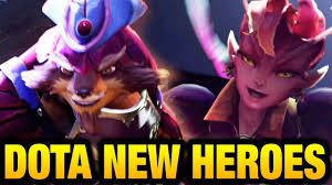 2 new heroes incoming the dueling fates update dota 2 ti7 youtube