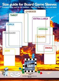 Arcane Tinmen 100 Ct Board Game Sleeves Large