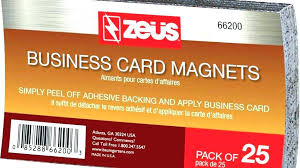 Vistaprint Magnetic Business Cards Mobilesparkco