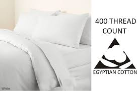 egyptian cotton 400 thread count duvet cover bedding set all sizes
