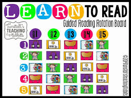 56 Prototypic Guided Reading Rotation Chart