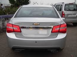 My Chevy Cruze pimped with tablet , new tail lights, diffuser and ...