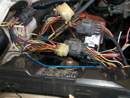 converting the car from obd0 to obd1 Wire Harness Not Taped Obd1 Wire Harness Diagram #38
