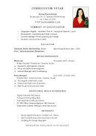 Pretty Resume In Jobstreet Ideas Entry Level Resume Templates