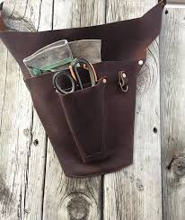 handmade leather tool belt. dreaming of spring and gardening with this new florist tool belt. - # handmade leather belt