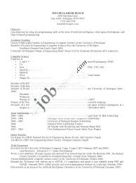 resume for computer science hardware engineer resume