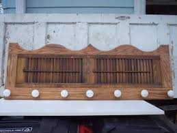 Coat Racks For Churches Impressive Kim's Coat Rack With Porcelin Door Knobs JUNKMARKET Style