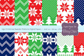 Christmas Pattern Sweater Magnificent Design Ideas