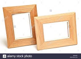 modern wood picture frames. Modern Wooden Frames Isolated On White Wood Picture P