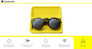 snapchat spectacles carrying case