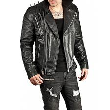leather motorcycle jacket zoom ghost