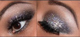 how to apply glittery eye makeup for new year s makeup wonderhowto