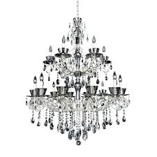 18 light chandelier by two tone silver light chandelier with clear 18 light starburst chandelier