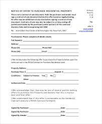 Property Offer Letter Templates - 10+ Free Word, Pdf Format Download ...