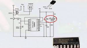 Fan And Light Remote Control Circuit Voltage Control With A Remote Control Panel