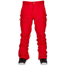 Bonfire Snow Pants Size Chart Bonfire Mens Zone Snowboard Pants Red