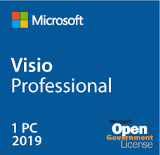 Microsoft Visio Professional 2019 Open Government