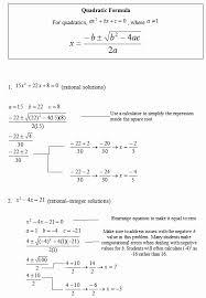 quadratic form factoring examples greatest solving quadratic equations by the quadratic formula sas