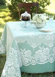 lace tablecloths outstanding