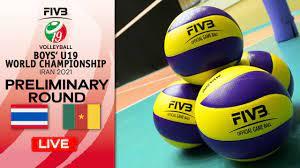 THA vs. CMR - Full Match   Group Phase   Boys U19 World Champs 2021 -  YouTube
