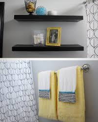 Yellow And Gray Kitchen Decor Fit Crafty Stylish And Happy Guest Bathroom Makeover Grey And