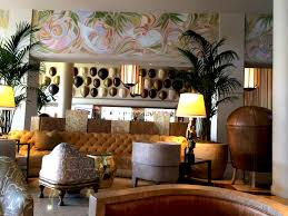 art deco furniture miami. South Florida Mural Artist, Abstract Theme Murals, Tides Hotel Lobby Art Deco Furniture Miami 9