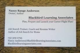 every job seeker needs business cards