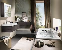 Modern Bathroom Colors Modern And Colorful Bathroom Furniture Design By Villeroyboch