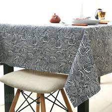 optional extra thick cotton linen tablecloth grey australia pp