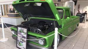 1966 Chevy Truck Restored By Western Iowa Tech Students On Display At Knoepfler Chevrolet Kmeg