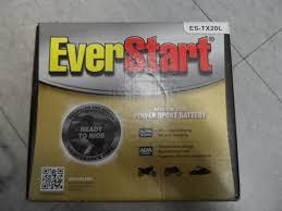 Powersport Battery Size Chart Everstart Es Tx20l Premium Agm Power Sport Battery